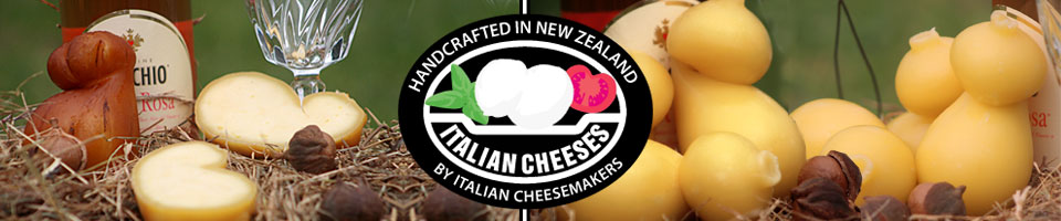 Italian Cheeses made in NZ banner